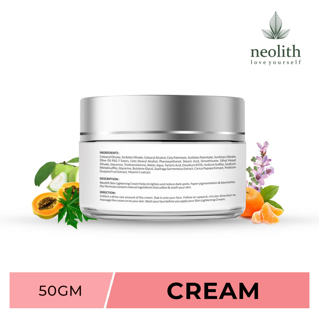 Skin Lightening Cream With Vit C